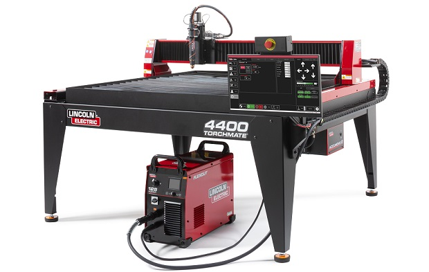 Lincoln Electric Torchmate 4400 A 4x4 Cnc Plasma Cutting Table Torchmate