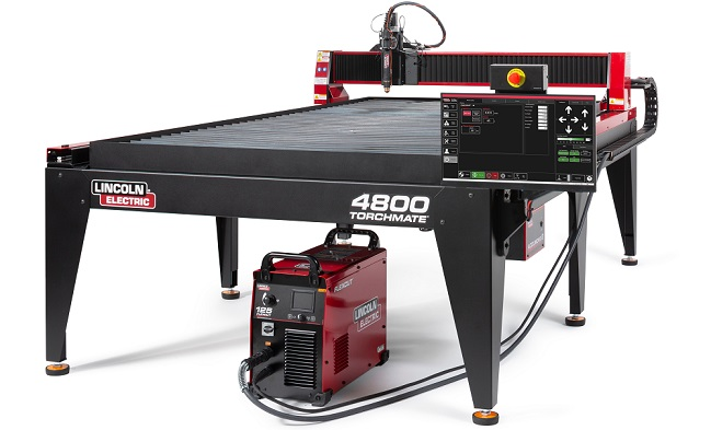 Lincoln Electric Torchmate 4800 A 4x8 Cnc Plasma Cutting