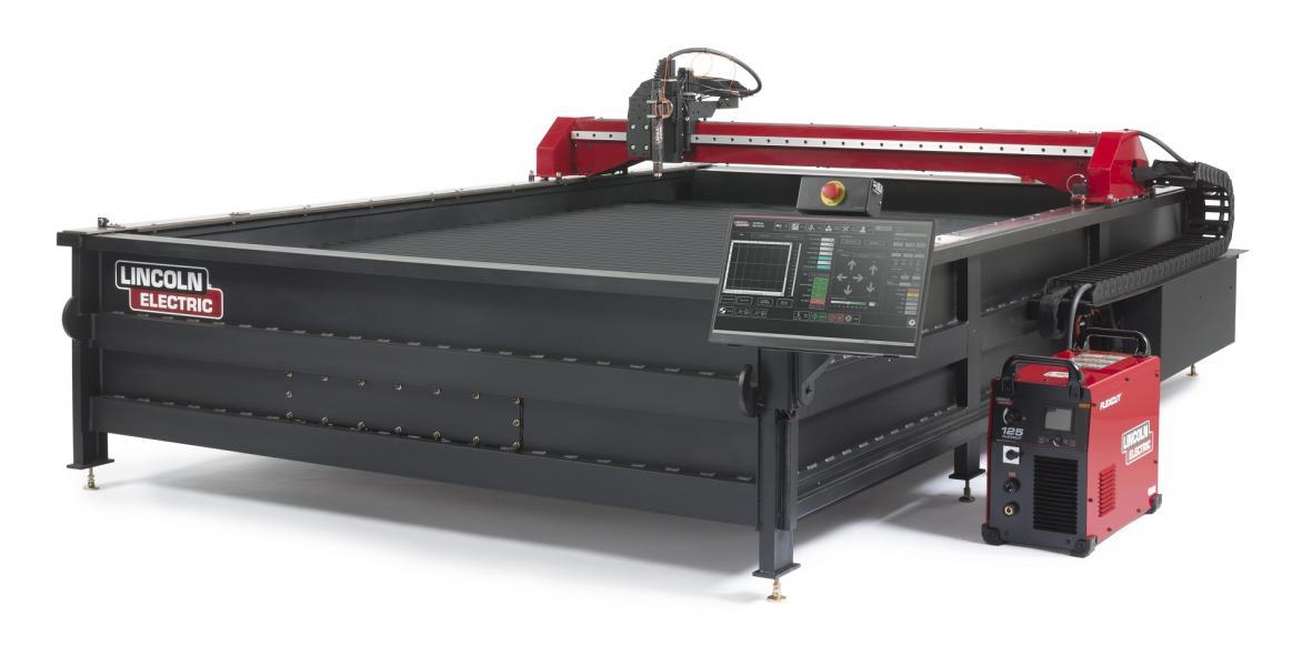 Torchmate X with FlexCut 125 plasma cutter
